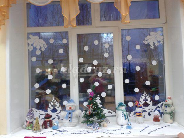 Украшения на окна своими руками в детском саду
